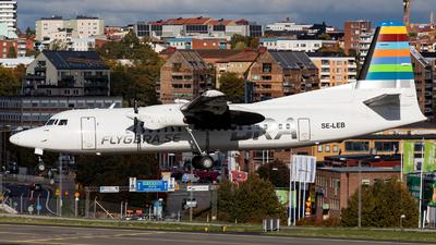 SE-LEB - Fokker 50 - Braathens Regional (Amapola Flyg)