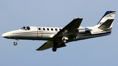 N324JT - Cessna 550B Citation Bravo - Private