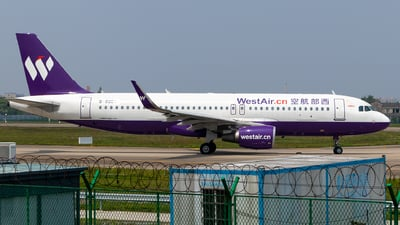 B-8286 - Airbus A320-214 - West Air