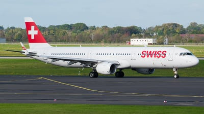 HB-ION - Airbus A321-212 - Swiss