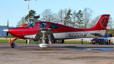 A picture of N220AM - Cirrus SR22 - [3635] - © Jez-UK