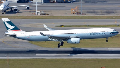 B-LBE - Airbus A330-343 - Cathay Pacific Airways