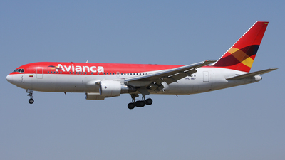 N421AV - Boeing 767-2B1(ER) - Avianca