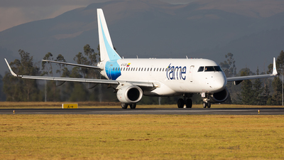 A picture of HCCGF - Embraer E190AR - TAME - © Andres Meneses