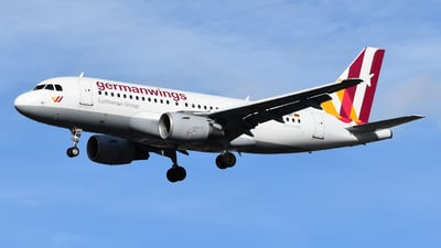 A picture of DAKNT - Airbus A319112 - Germanwings - © MilanWitham