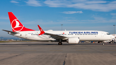 TC-LCN - Boeing 737-8 MAX - Turkish Airlines