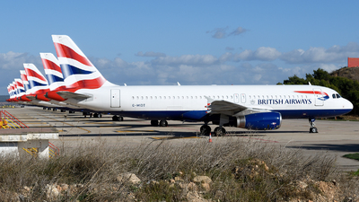 A picture of GMIDT - Airbus A320232 - British Airways - © Toni Marimon