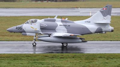 C-FGZE - McDonnell Douglas A-4N Skyhawk - Discovery Air