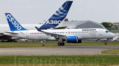 C-FFDK - Bombardier CSeries CS300 - Bombardier Aerospace