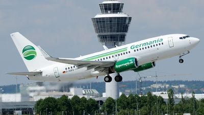 D-AGES - Boeing 737-75B - Germania