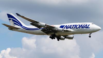 A picture of N756CA - Boeing 747412(BCF) - National Airlines - © Wilko Doodhagen
