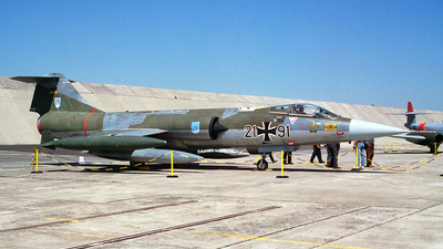 21-91 - Lockheed F-104G Starfighter - Germany - Air Force