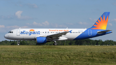 A picture of N217NV - Airbus A320214 - Allegiant Air - © DJ Reed - OPShots Photo Team