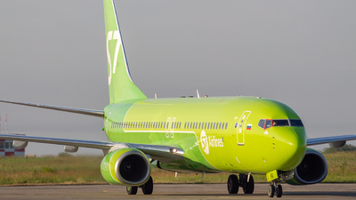 A picture of VQBRQ - Boeing 7378LP - S7 Airlines - © Mikhail Leukhov
