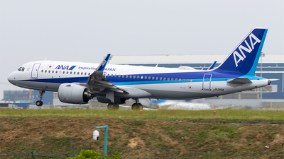 JA215A - Airbus A320-271N - All Nippon Airways (ANA)