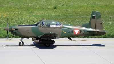 3H-FJ - Pilatus PC-7 - Austria - Air Force