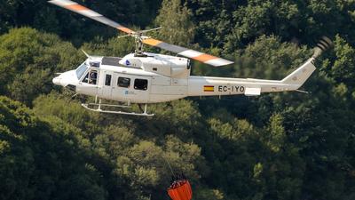 EC-IYO - Bell 212 - Babcock MCS Spain