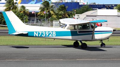 A picture of N73928 - Cessna 172N Skyhawk - [17267752] - © Angel Moreno, PR Spotter
