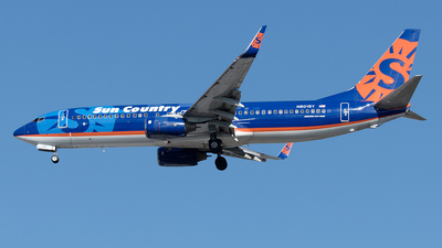 A picture of N801SY - Boeing 7378Q8 - Sun Country Airlines - © Yixin Chen