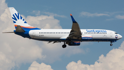 D-ASXS - Boeing 737-8AS - SunExpress Germany