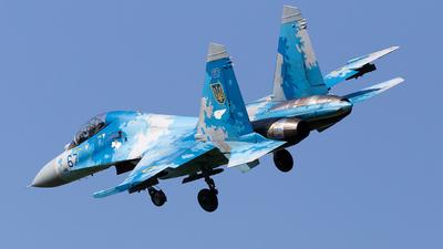 67 - Sukhoi Su-27UB Flanker C - Ukraine - Air Force