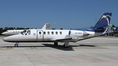 LV-CFS - Cessna 550 Citation II - Aviajet