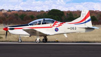063 - Pilatus PC-9M - Croatia - Air Force