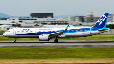 JA133A - Airbus A321-272N - All Nippon Airways (ANA)