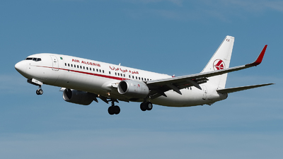 A picture of 7TVKK - Boeing 7378D6 - Air Algerie - © Philippe Ardin
