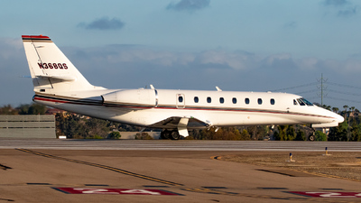 N368QS - Cessna 680 Citation Sovereign - NetJets Aviation