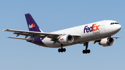 A picture of N665FE - Airbus A300F4605R - FedEx - © Jake Simpson