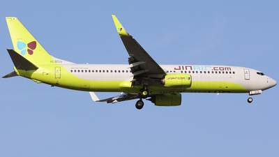 A picture of HL8013 - Boeing 7378SH - Jin Air - © REDSOX