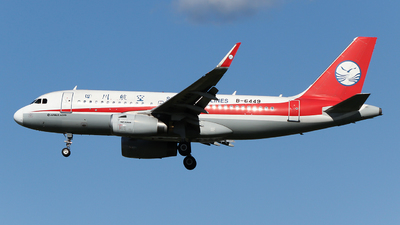 B-6449 - Airbus A319-133 - Sichuan Airlines