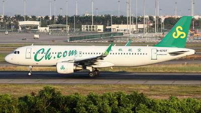 B-6707 - Airbus A320-214 - Spring Airlines