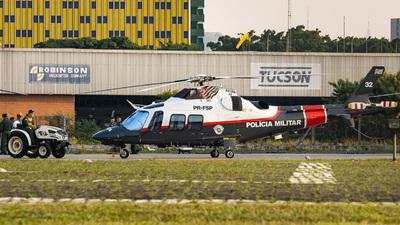PR-FSP - Agusta-Westland AW-109SP - Brazil - Military Police
