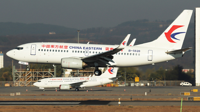 A picture of B5820 - Boeing 73779P - China Eastern Airlines - © Amber Xuan