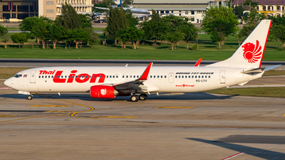 HS-LTV - Boeing 737-9GPER - Thai Lion Air