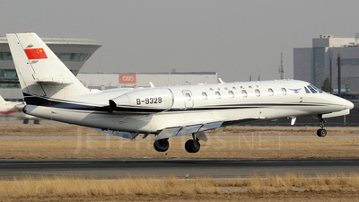 B-9329 - Cessna 680 Citation Sovereign - Civil Aviation Administration of China (CAAC)