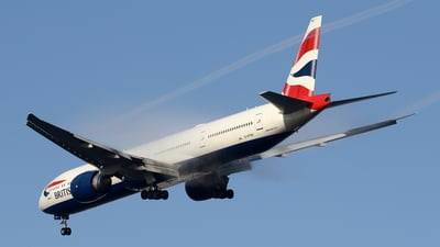 G-STBC - Boeing 777-36NER - British Airways