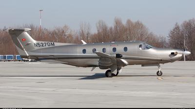 N527DM - Pilatus PC-12/47 - Private