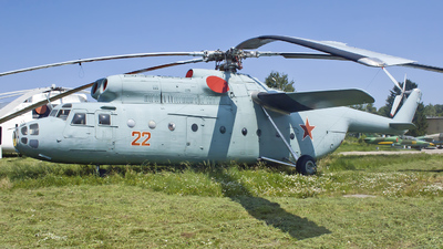 22 - Mil Mi-6 Hook - Russia - Air Force