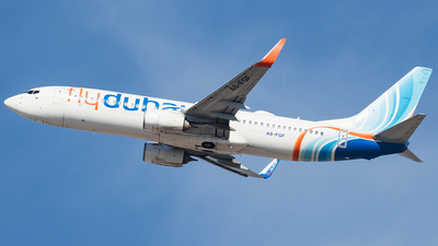 A picture of A6FGF - Boeing 7378KN - FlyDubai - © Oliver Sänger