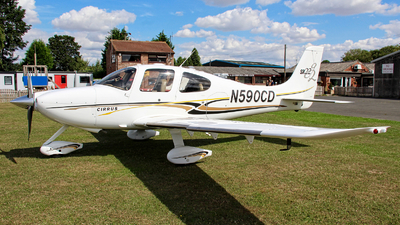 A picture of N590CD - Cirrus SR22 - [0957] - © Jez-UK
