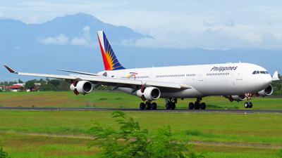 RP-C3441 - Airbus A340-313 - Philippine Airlines
