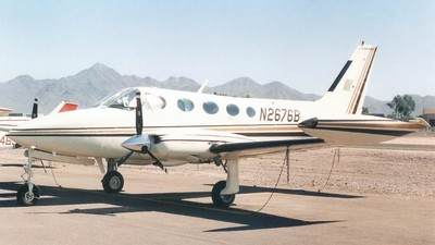 A picture of N2676B - Cessna 340A - [340A0762] - © K West