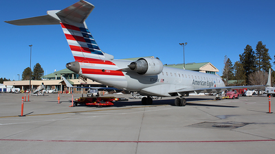 A picture of N744SK - Mitsubishi CRJ701ER - American Airlines - © Alexander Aston