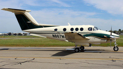 N867MA - Beechcraft F90 King Air - Private