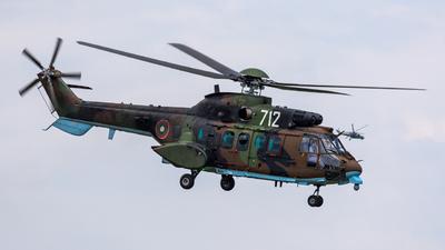712 - Eurocopter AS 532AL Cougar - Bulgaria - Air Force