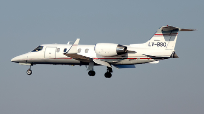 LV-BSO - Bombardier Learjet 31A - Private