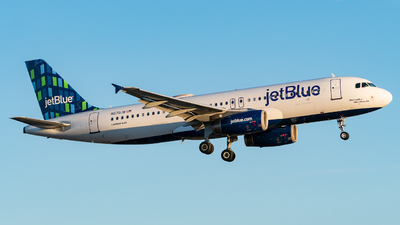 A picture of N570JB - Airbus A320232 - JetBlue Airways - © ne.planespotter